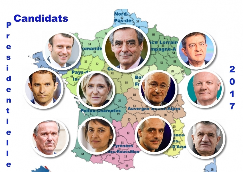 France: Elections présidentielles 2017 - Maria Portugal-World View